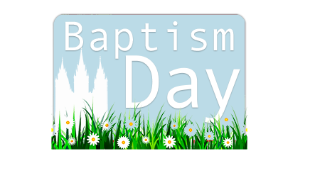 LDS Baptism gifts cards mormon