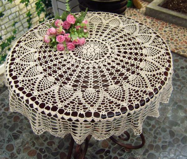 Heirloom Crochet Table Cover