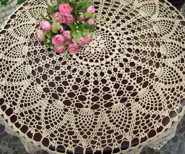 Heirloom Crochet Table Cover. Copy Of Heirloom Lace Tablecloth ...