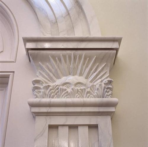 Peeping Sunstone Nauvoo Temple Interioir LDS art