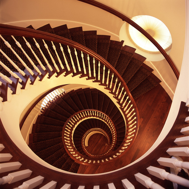 Nauvoo Temple Tspiral_stairs_down.jpg