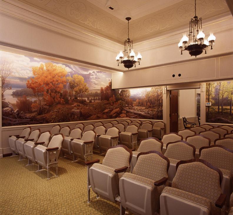 Nauvoo Temple Interioir LDS art 11.jpg