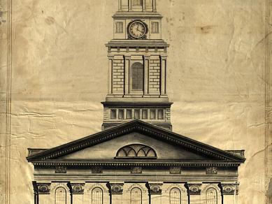 Nauvoo Temple Photo blueprints