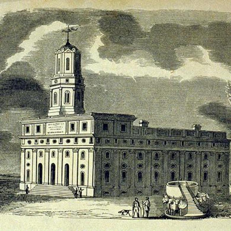 Nauvoo Temple LDS Art Historic 38.jpg