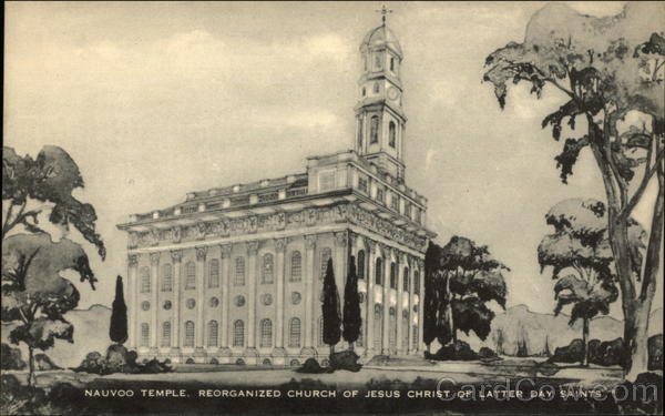 Nauvoo Temple, Reorganized Church of Jesus Christ of Latter Day Saints, IL