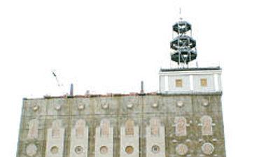 Nauvoo Temple LDS Art construction20.jpg