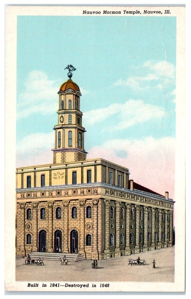 Nauvoo Temple LDS Art MISC243.jpg