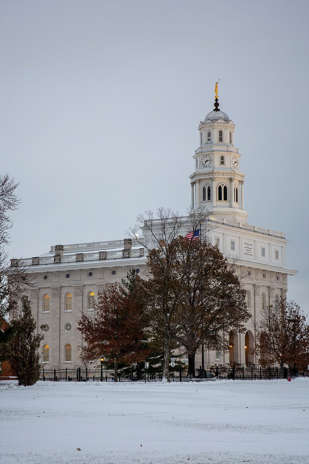 Nauvoo Temple Snow picture239.jpg