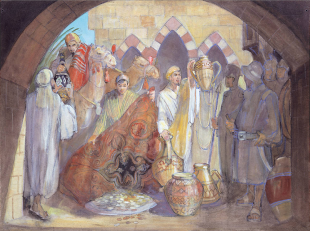 Minerva Teichert Paintings LDS art BYU45.png