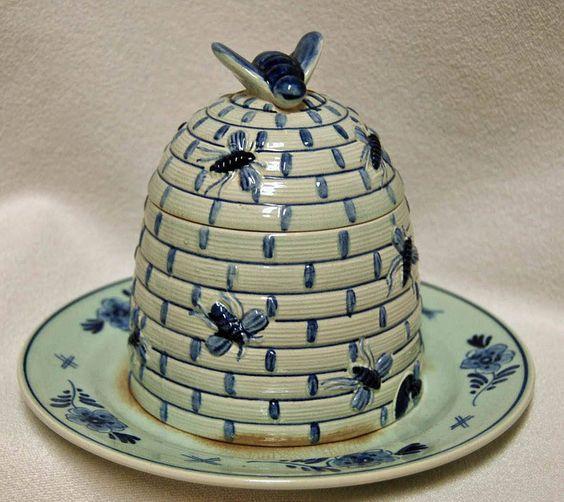 Nauvoo Beehive Mormon LDS dish collection