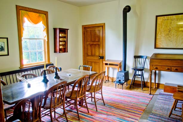 Brigham Young Nauvoo Home Meeting Room