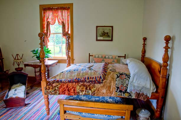 Brigham Young Nauvoo Home Bedroom