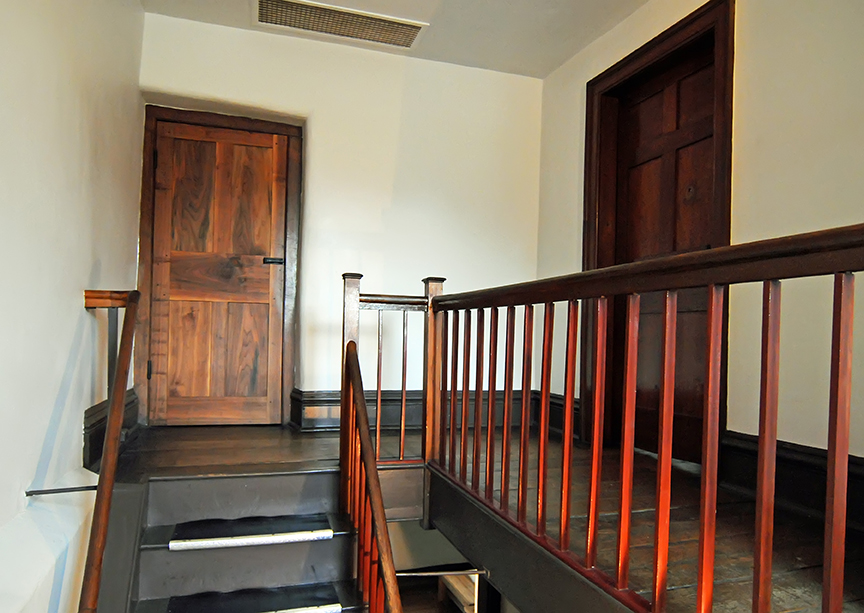 Nauvoo Carthage Jail Staircase