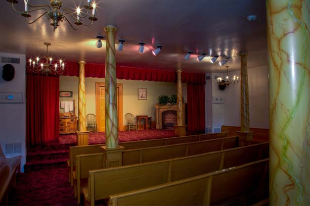 Nauvoo Cultural Hall  Stage