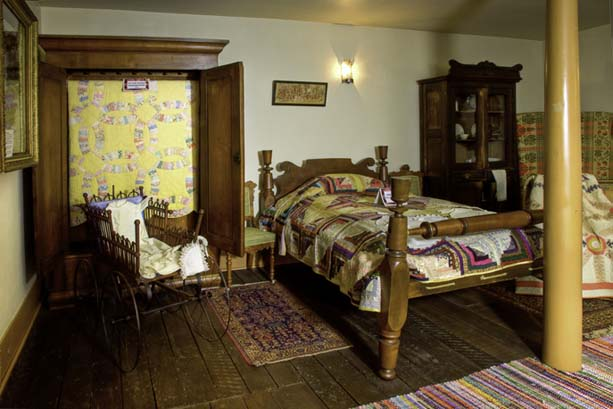 Nauvoo Cultural Hall Bedroom