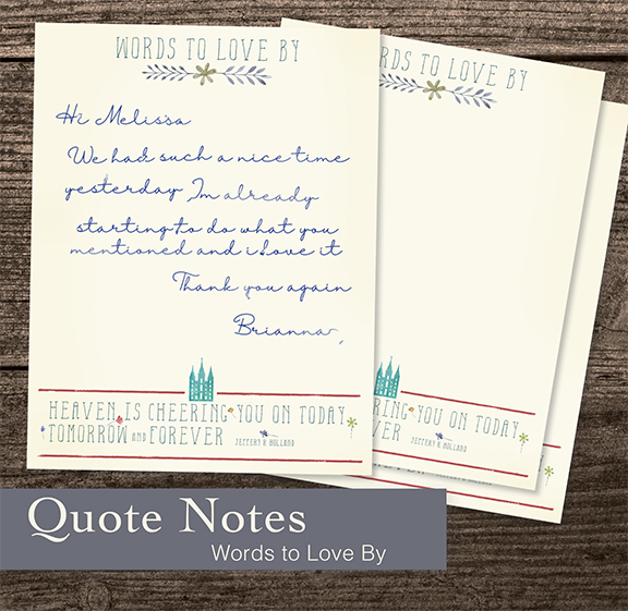 FREE Ministering Cards I QUOTE NOTES