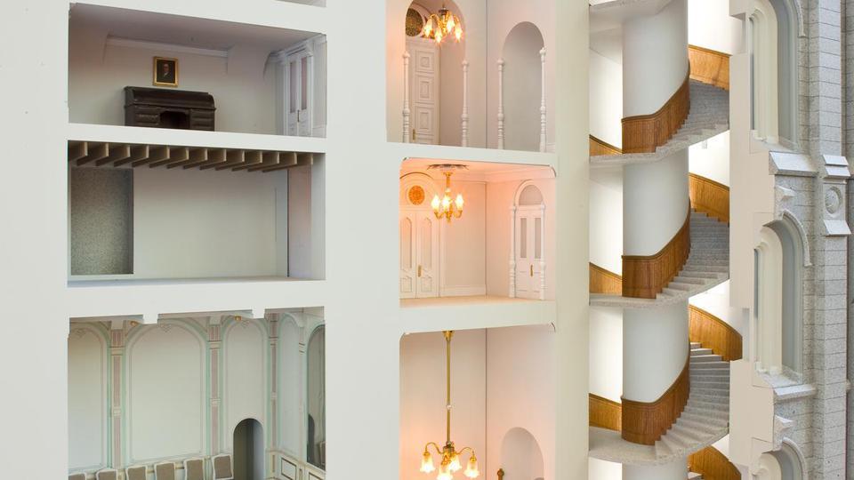Salt lake temple renovation model