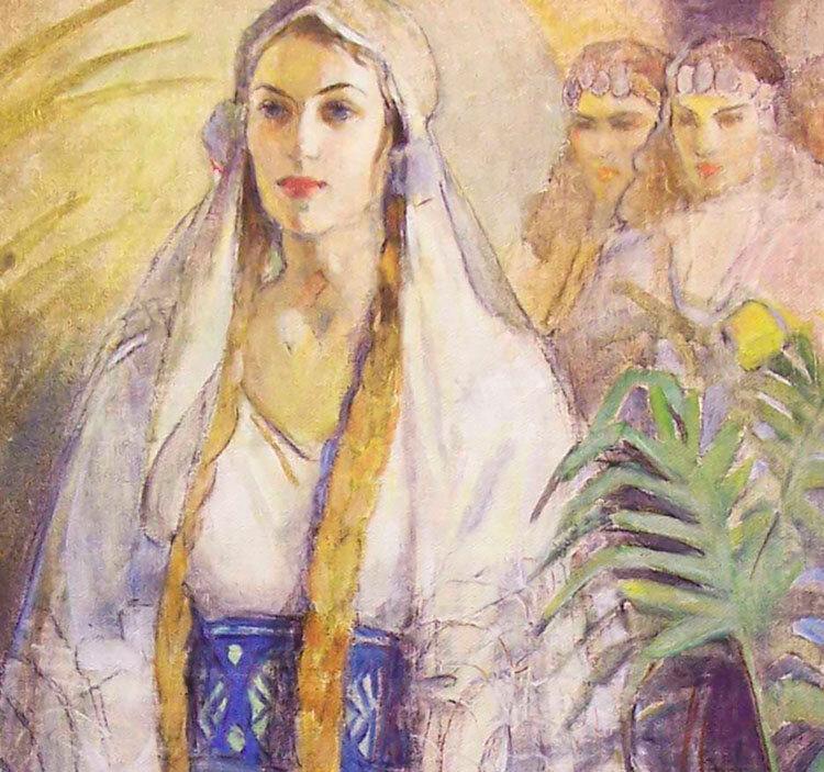 Minerva Teichert Art Queen Esther Latter Day Saint Art