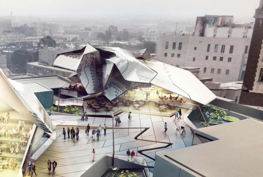 THE MAIN MUSEUM OF LOS ANGELES ART -Los Angeles, California, 2014-2017