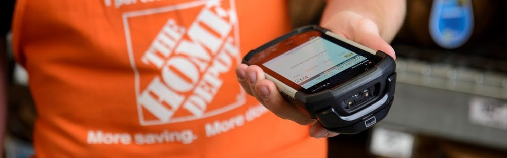 Motorola TC70 is currently used in Home Depot stores nationwide