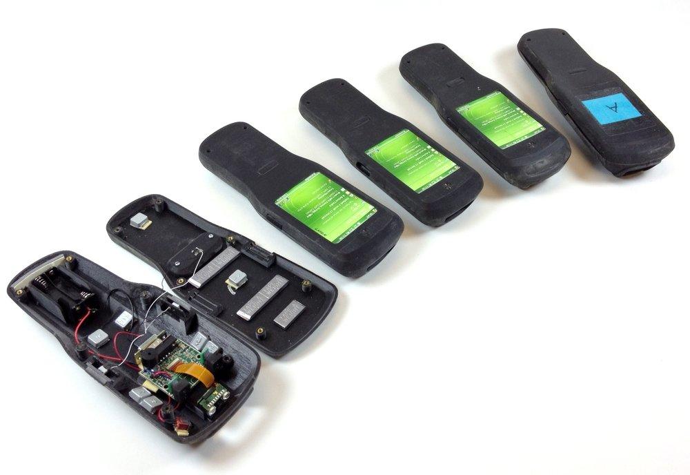 Working prototypes to validate scanning performance and ergonomics