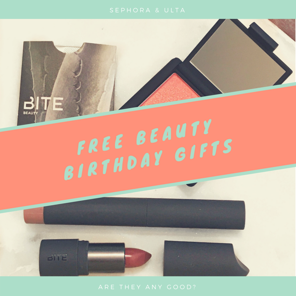 Free Beauty Birthday Gifts Everyday Cait