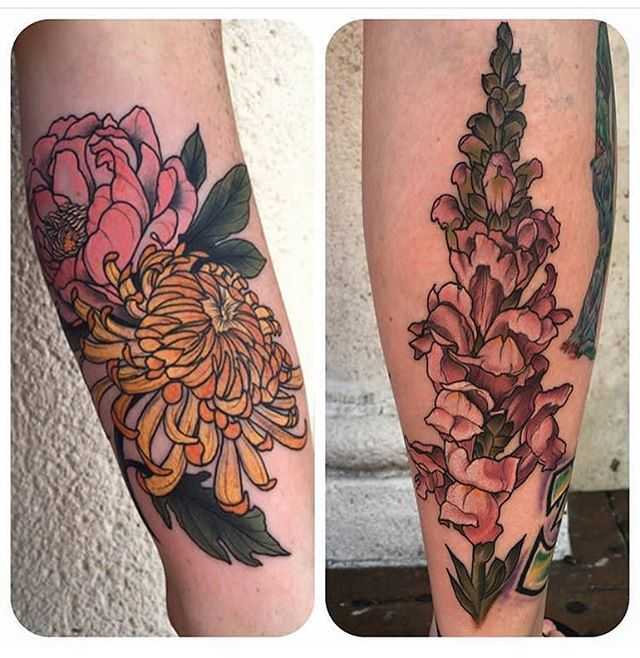 By Pooka (@pooka) #miami #tattoo #ochoplacas