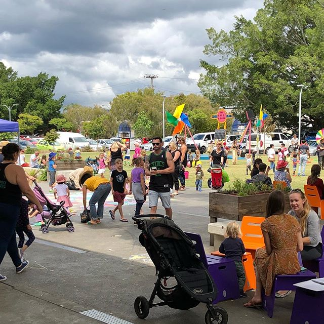 Awesome day out at the Lismore playground festival at the  #lismoreregionalgallery #lismorequad