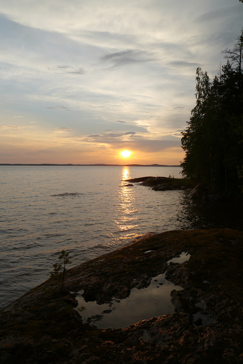 solnedgångpålande