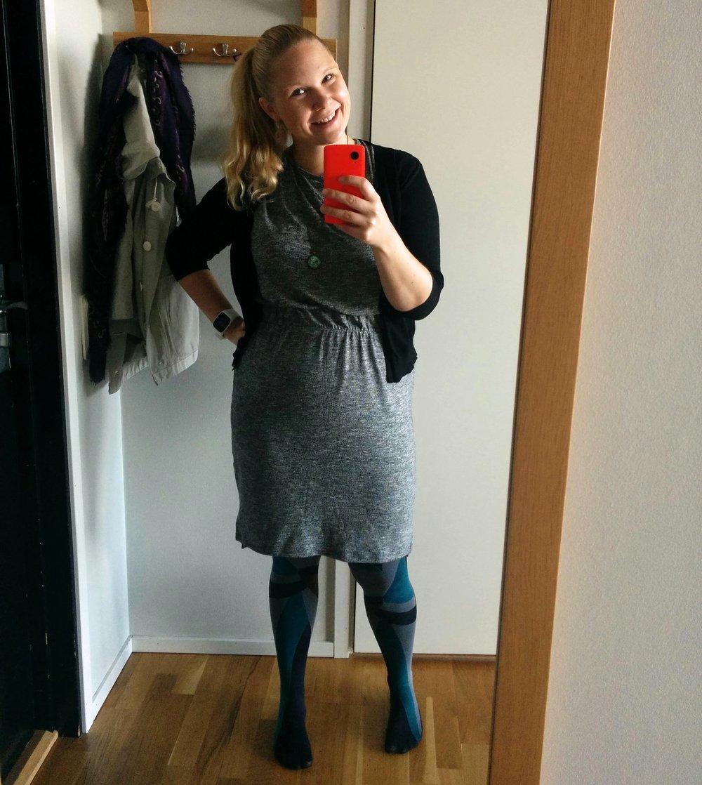 Bokmässelook från i fjol. Har ingen aning om vad jag ska ha på mig i år. Annat än bekväma skor!