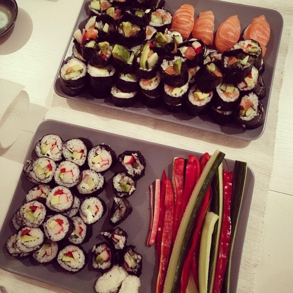 Hemlagad sushi är så himla gott – och tusen gånger billigare än på restaurang.