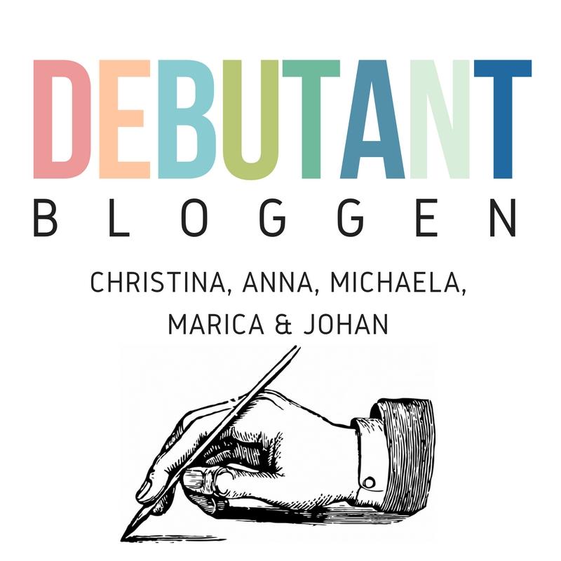 Under 2017 bloggar jag varje onsdag på Debutantbloggen.