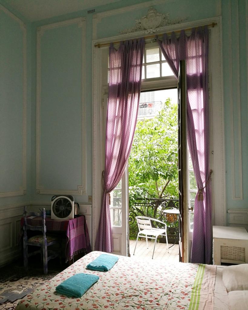 Mitt första rum i Buenos Aires.