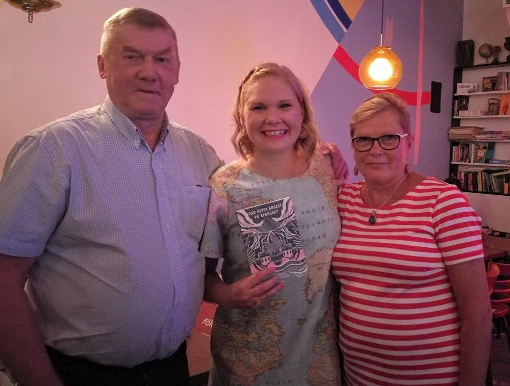 Mina föräldrar och jag!