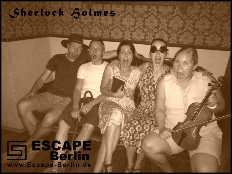 Lyckliga och lite skräckslagna (?!) vinnare, hehe. Foto: Escape Berlin.