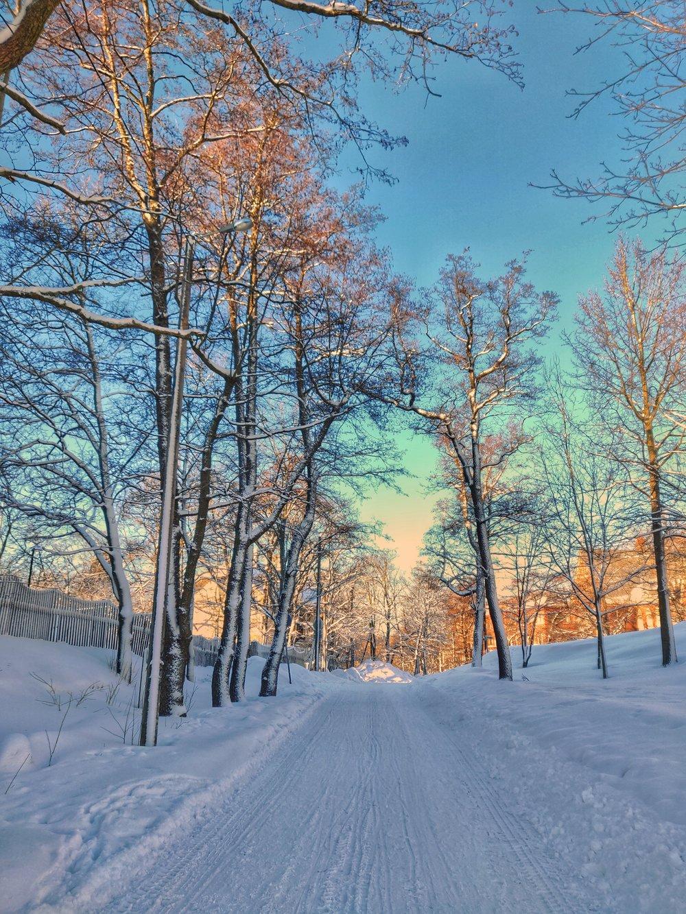 INTE dagens väder. Nu går Helsingfors i en sorglig gråskala.