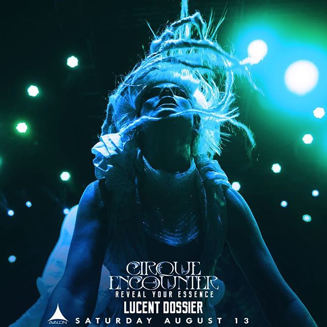 In just 3 days The Lucent Dossier Experience takes over @avalonhollywood for an incredible performance you don't want to miss! Get your tickets now using the link in our bio! http://bit.ly/Lucentavalon #avalonhollywood #revealyouressence #cirqueencounter