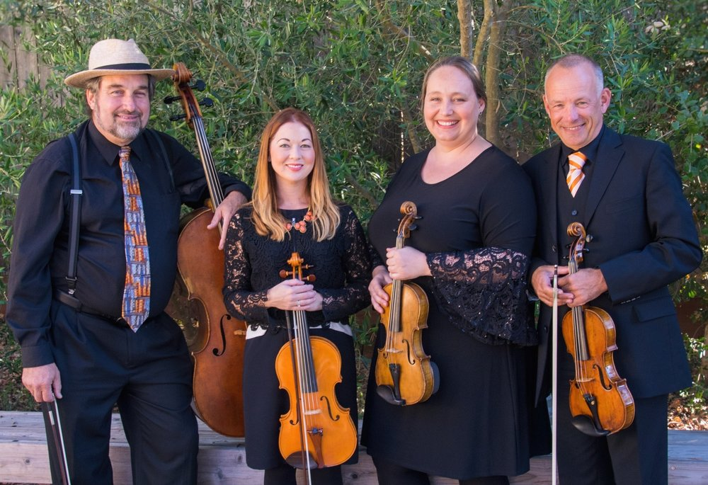 Karsten Windt, violin & presentation  Tammie Dyer, violin  Ivy Zenobi, viola  Joel Cohen, cello