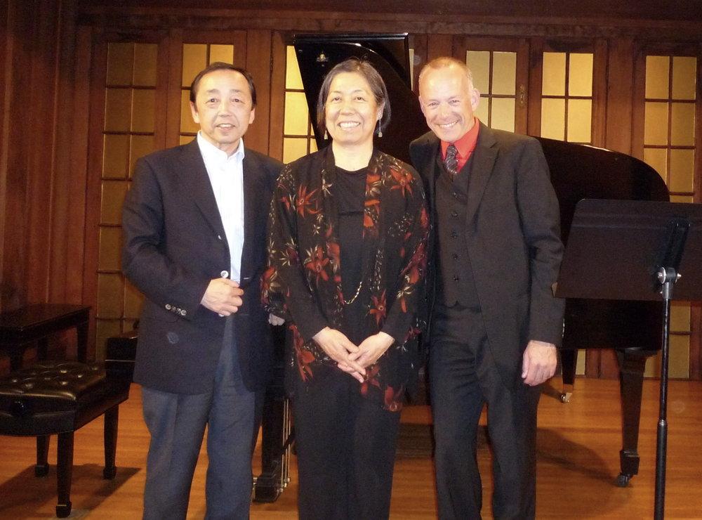 Hiroshi Nonomiya, LaDene Otsuki, Karsten Windt