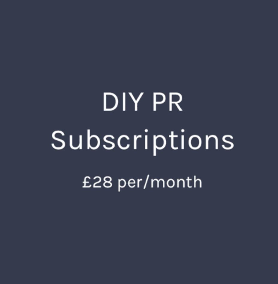 DIY PR   PR is so important, and it no longer needs to cost a fortune.  Lo  ndon Fashion Agency  has recently launched  PR DISPATCH , a monthly subscription that gives you the contacts and know how to get in touch with magazines yourself all for just £28 per month.  They are offering friends of Carousel & Co.  one free month  with a purchase of a 3-month or 12-month subscription. Just use the code  C&C1MONTHFREE  at checkout!