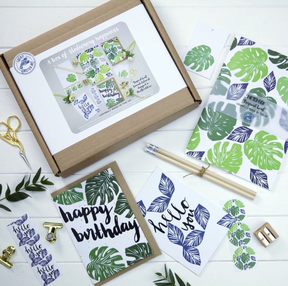 Lucky Lobster Art launch their super cute stationery boxes. We just can't choose our  favourite ...