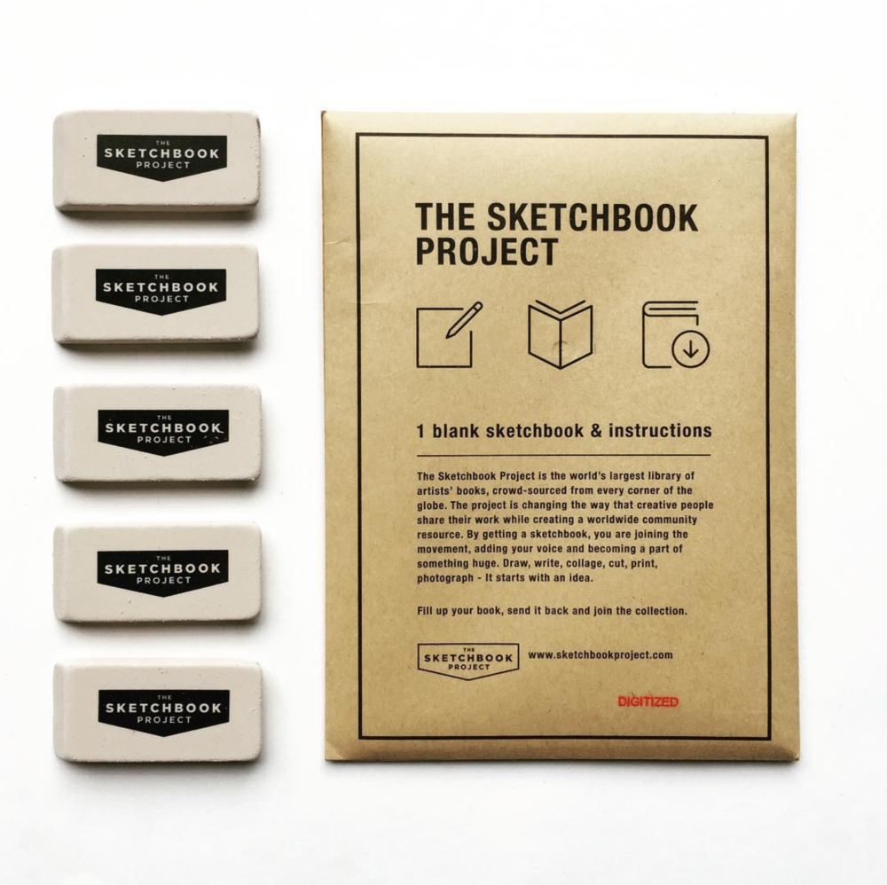 The Sketchbook Project 2018, $30  www.brooklynartlibrary.com