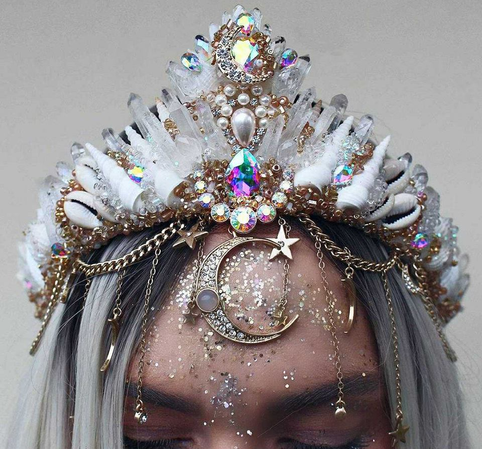 Build a crown chelseas flowercrowns 209538446833493651690659215684353236026635ng crystal quartz mermaid crowns izmirmasajfo