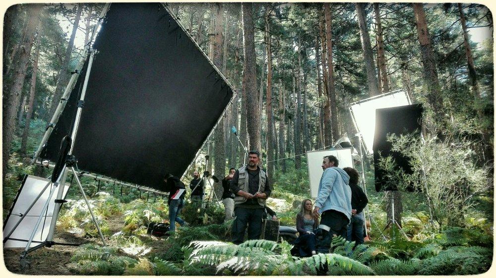 """Rodaje de """"Maus"""", producida por Apache films."""