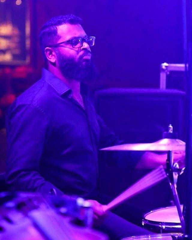 Happy Birthday to our very fine drummer Ruvith Abraham!  #drummer #drumming #indierock #shoegaze #dreampop #singersongwriter #sticks #drums #cymbals #hiddencurrents #hiddencurrentsband