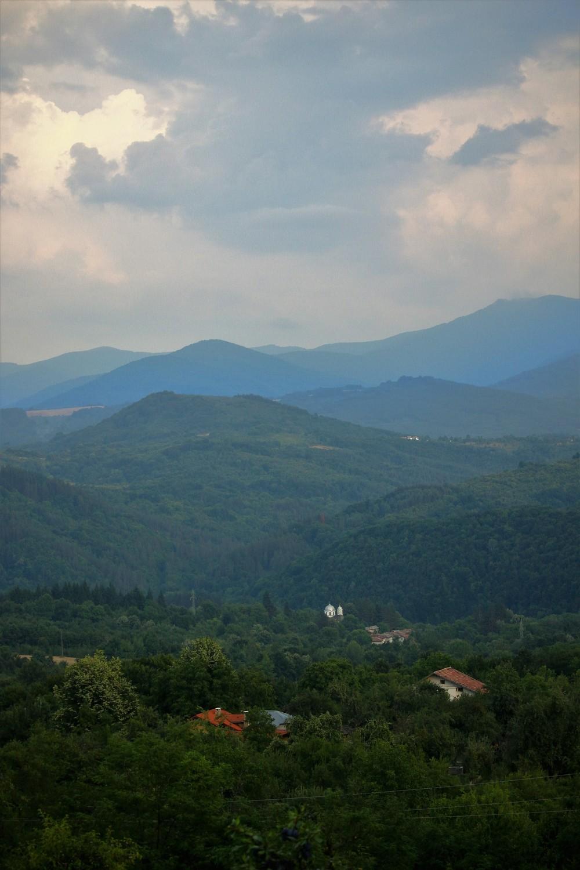 Mountain tops in Stara Planina, July 2015