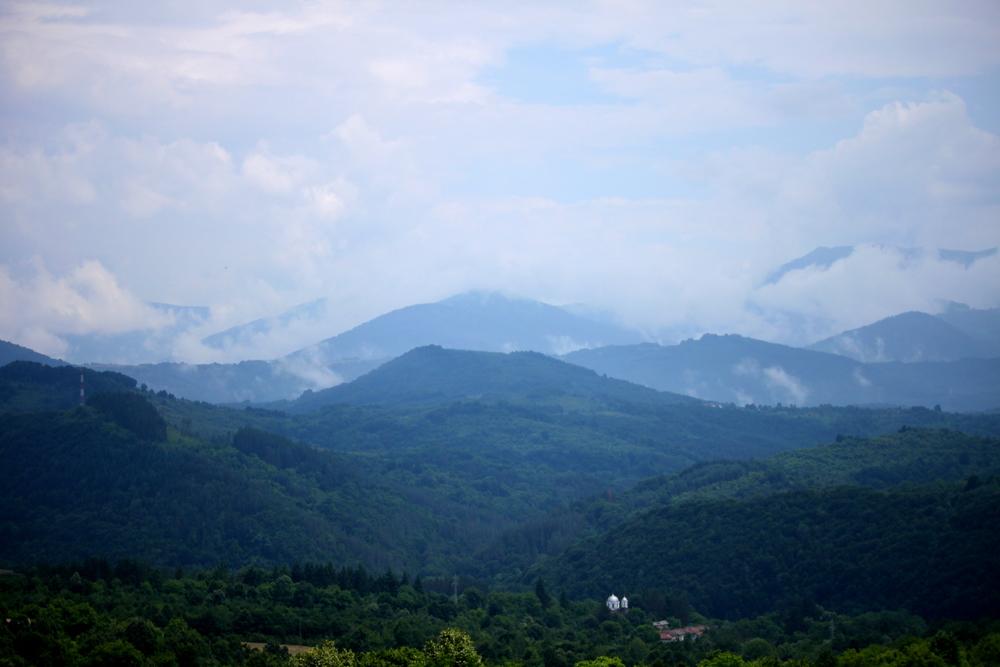 Mountain tops in Stara Planina (Old Mountain), July 2015