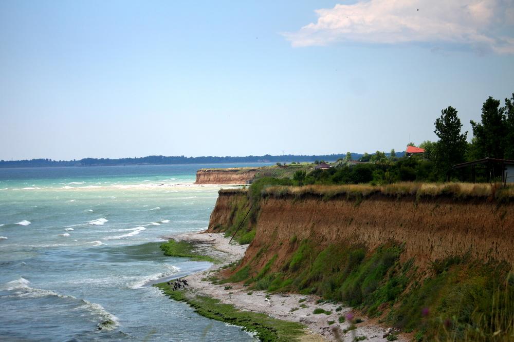 Northern Black Sea coast, near the village of Krapets, July 2015