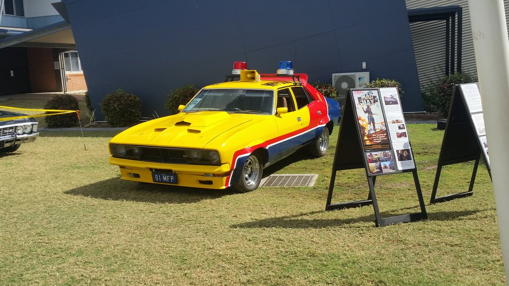 1976 XB Sedan Mad Max Yellow Interceptor