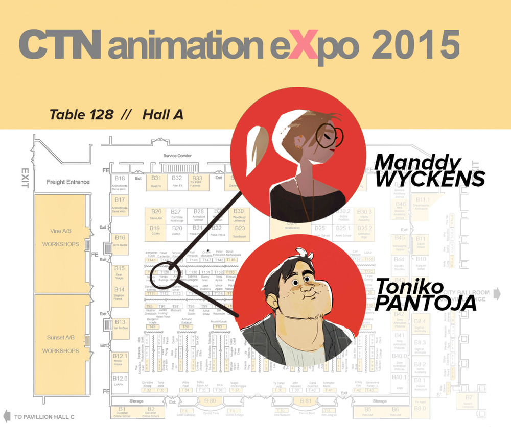 I should have announced it a long time before but hey, this year again i'm coming to CTN & this time i'll be sharing a table with my buddy   Toniko  ! I'm preparing some neat stuff too, so hopefully you'll like it. On my list there's some new prints, mayyybe a book-comic-sort-of (need to find a cool print place for that…Any tips about that is welcome) Oh and also, if any of you are interested i might sell some originals (for the first time actually!)   Anyway, let me know if you're going !